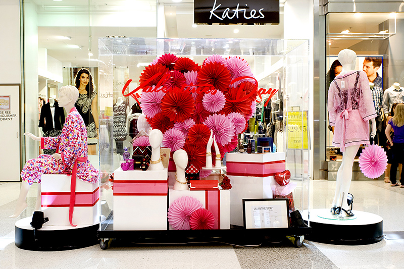 Valentines-Day-visual-merchandising-at-Westfield-shopping-centre