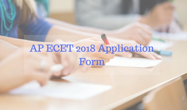 AP ECET 2018 Application Forms