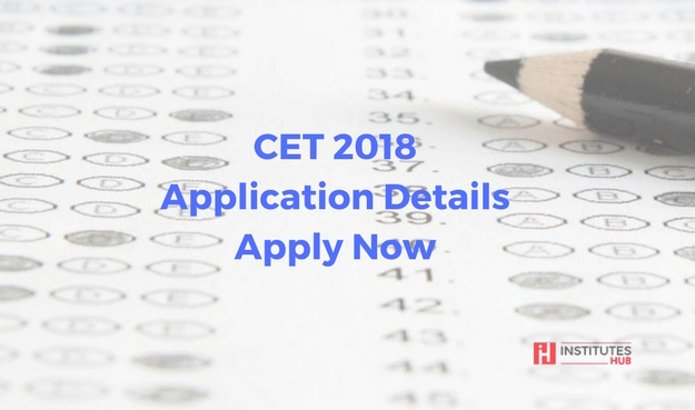 CET 2018 Application Details Apply Now