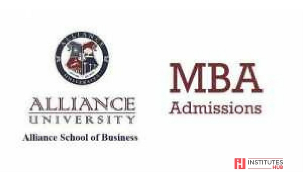 Alliance University MBA Admission 2018 Notifications