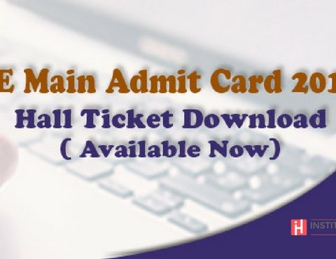 JEE Main 2018 admit card now available at jeemain.nic.in