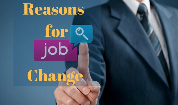 List of Reason for Job Change