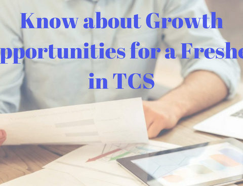 Want to know about the growth opportunities for a fresher in TCS? Here's all what you need to know about TCS Career!