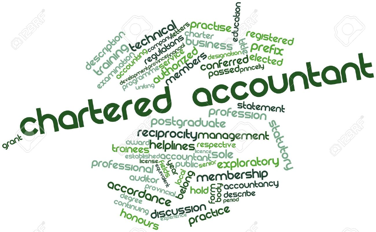 Chartered Accounting; home based jobs